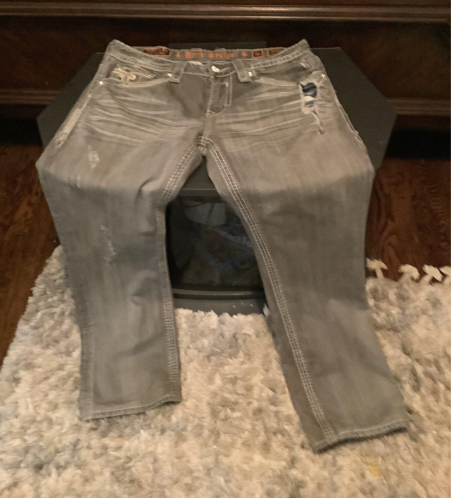 Men's rock rock Revival jeans