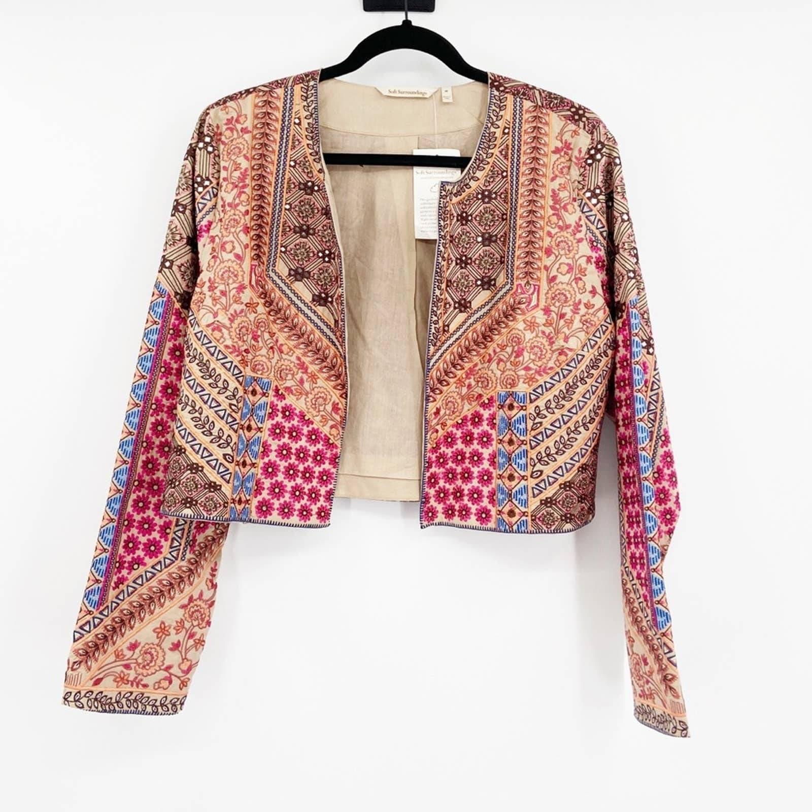 Soft Surroundings Livia Bolero Jacket