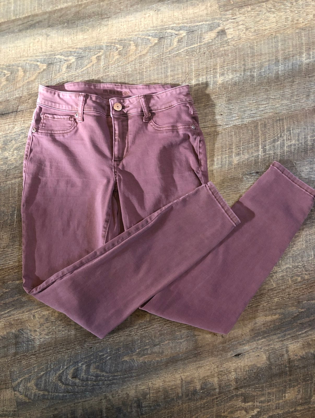 Pink maurices jeggings size small