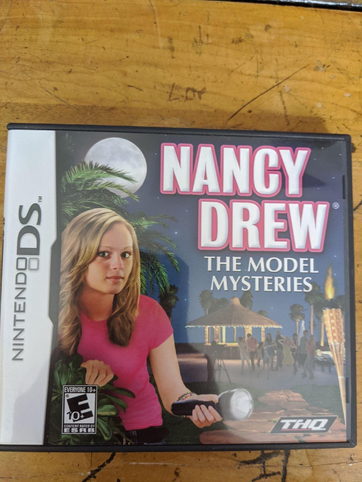 Nancy Drew: The Model Mysteries on Ninte