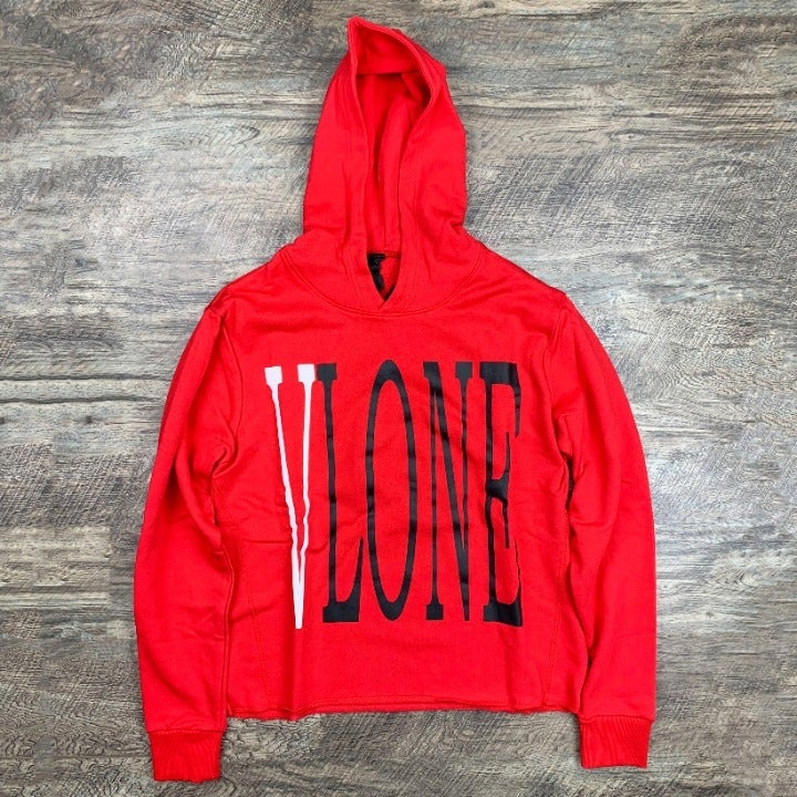 Vlone Staple ATLANTA Red Sweatshirt