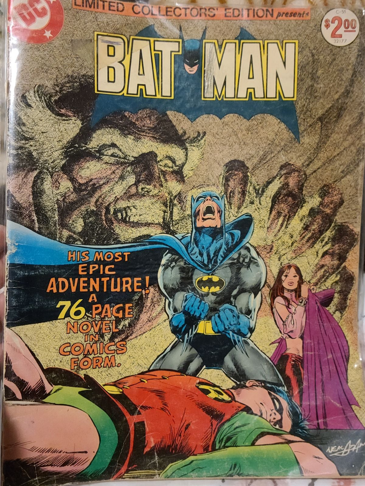 Batman treasury edition comic