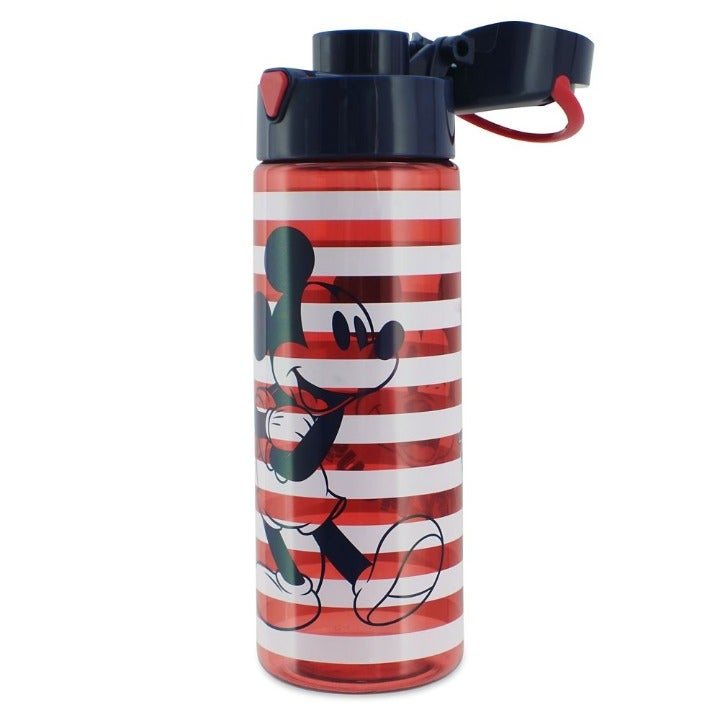 Mickey Mouse Stripe Water Bottle