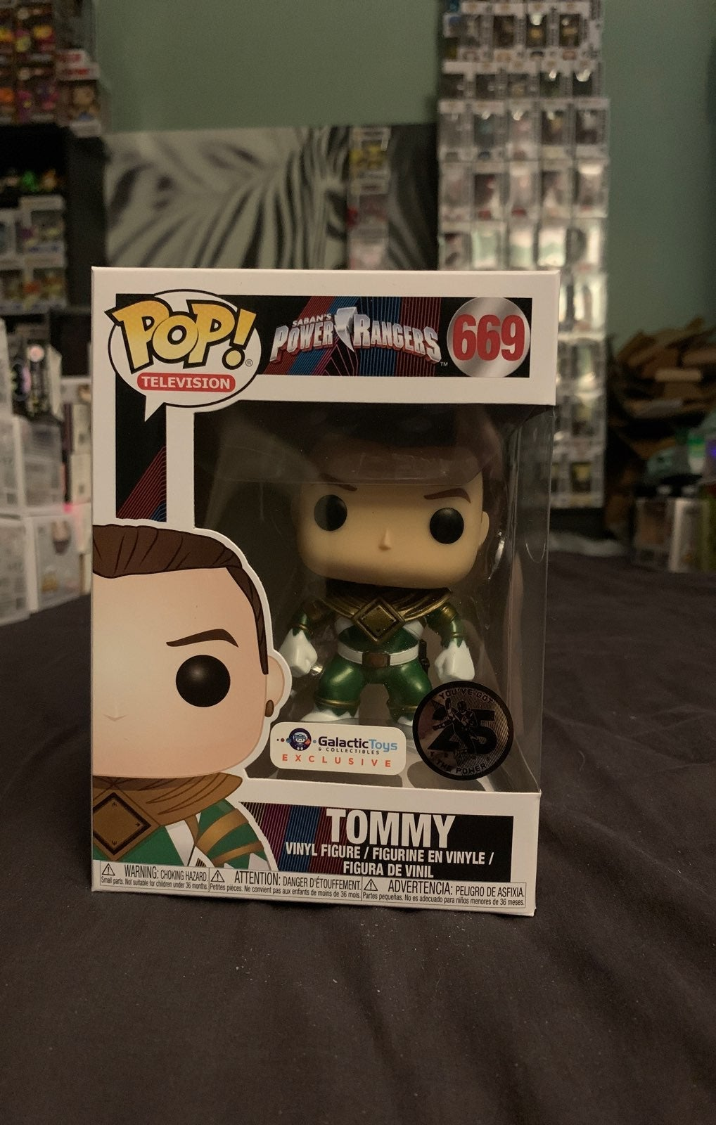 Metallic Tommy from Power Rangers