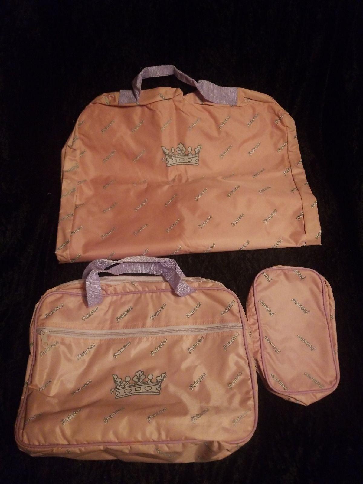 Avon Pink PRINCESS 3pc Travel Set