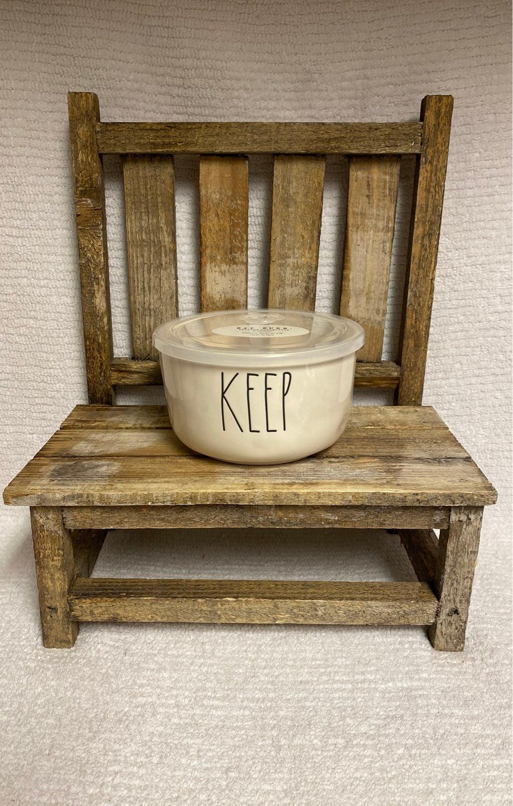 Rae Dunn Keep container