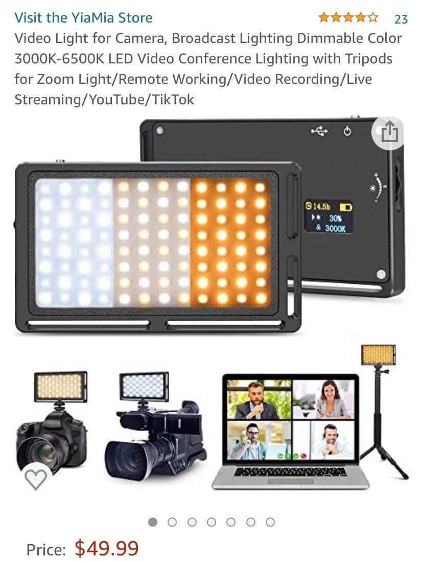Video Light for Camera, Broadcast Lighti