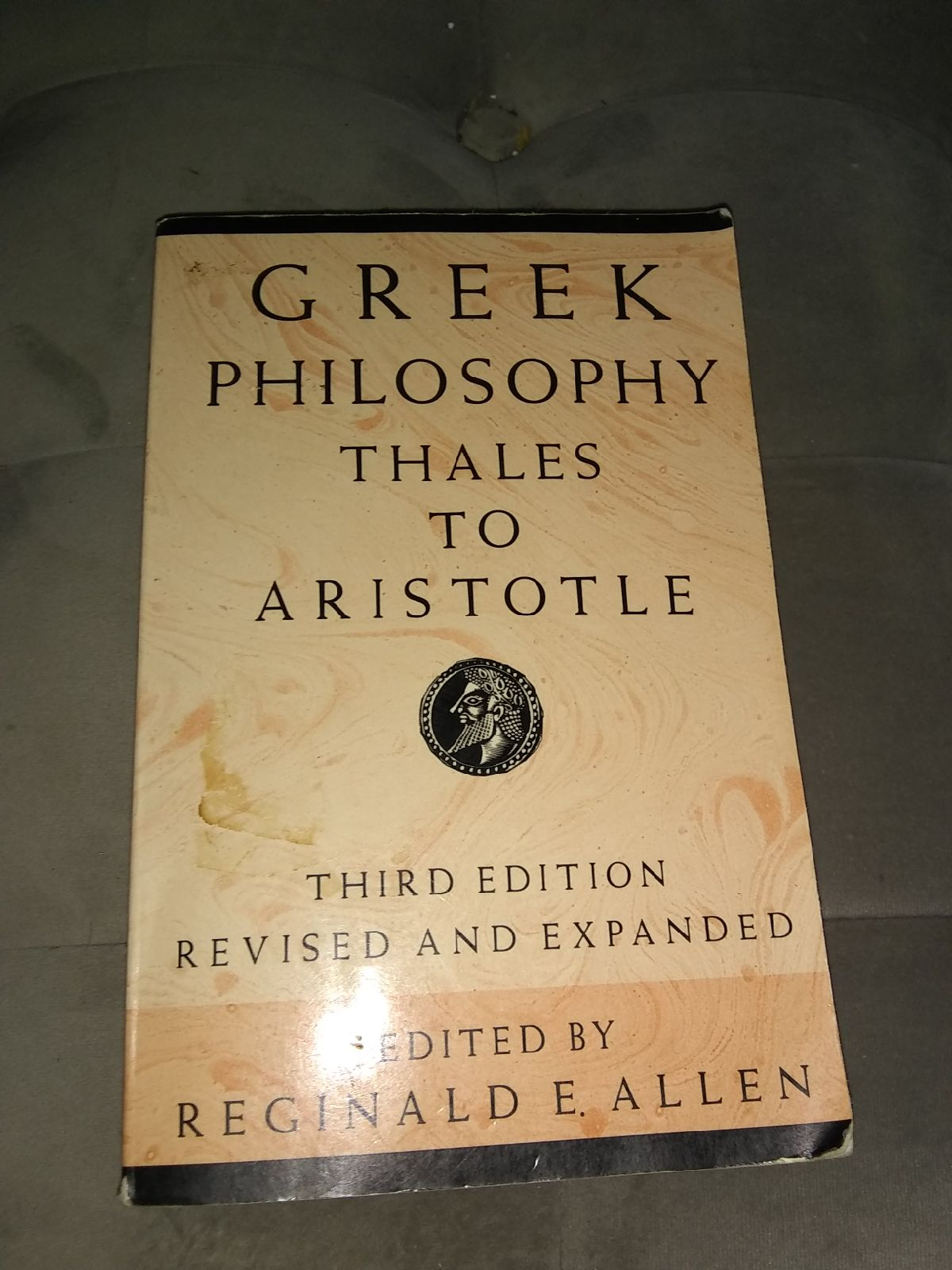 Greek Philosophy Book.