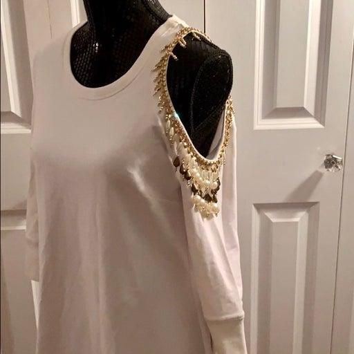 Boston Proper Embellished Sport Dress
