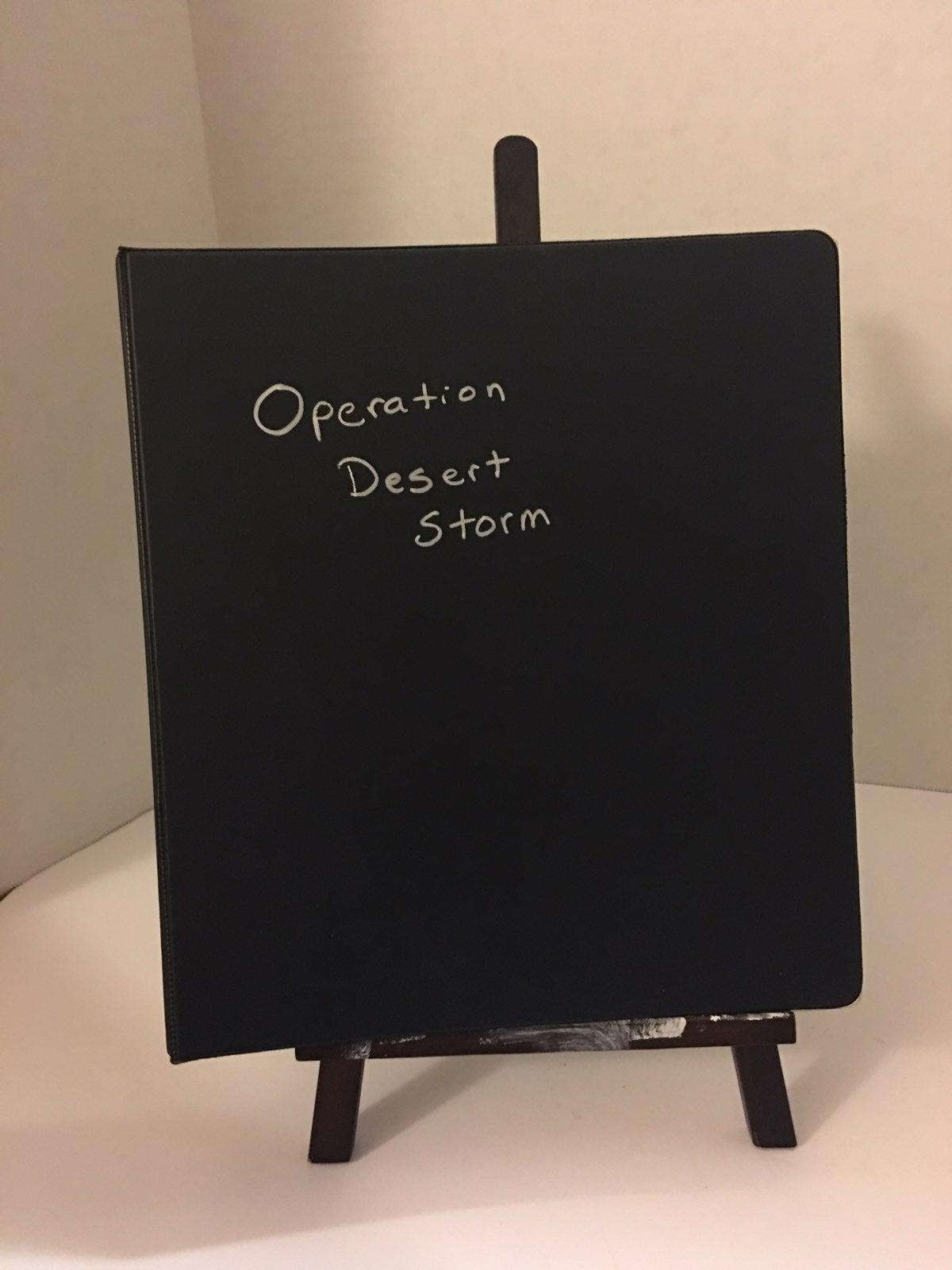 Operation Desert Storm Cards