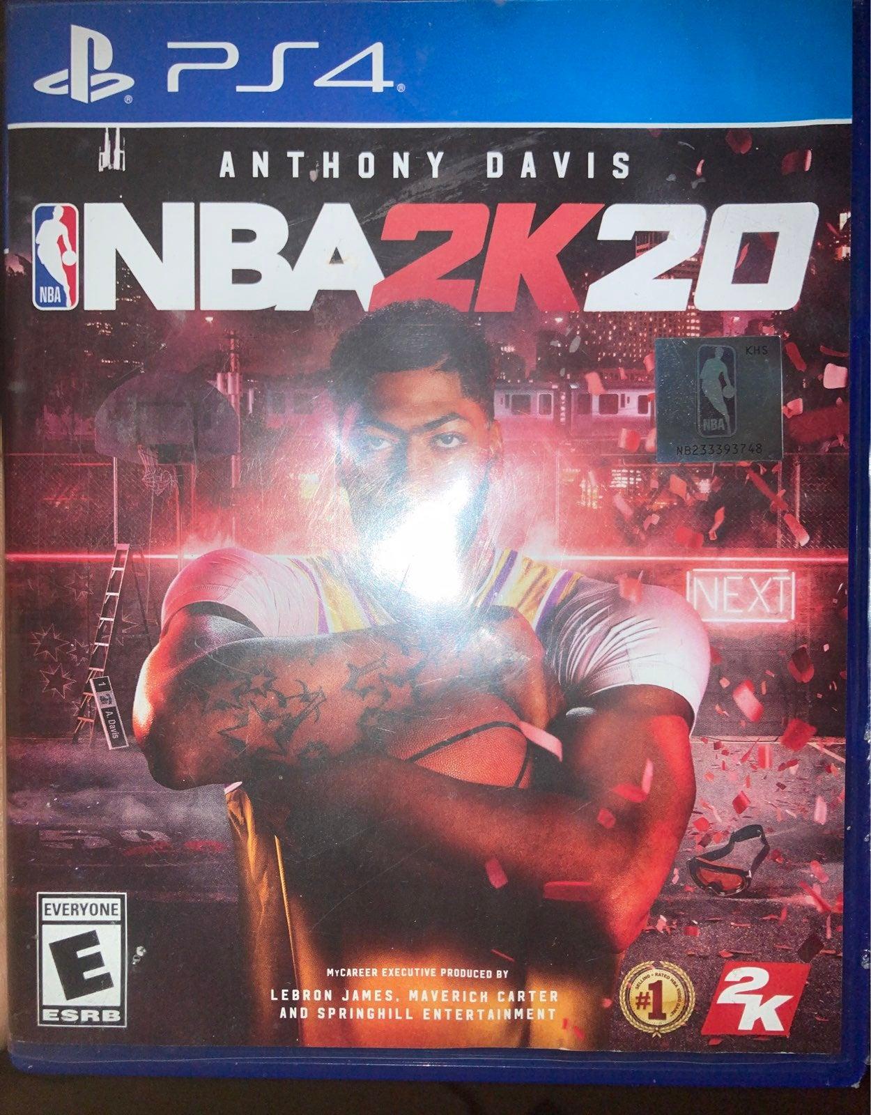 NBA 2K20 on Playstation 4