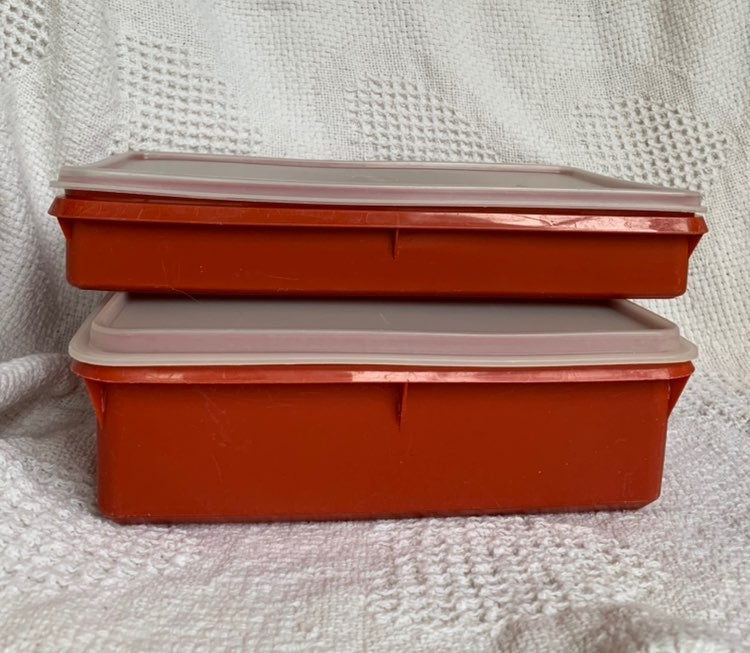 Vintage Tupperware Storage