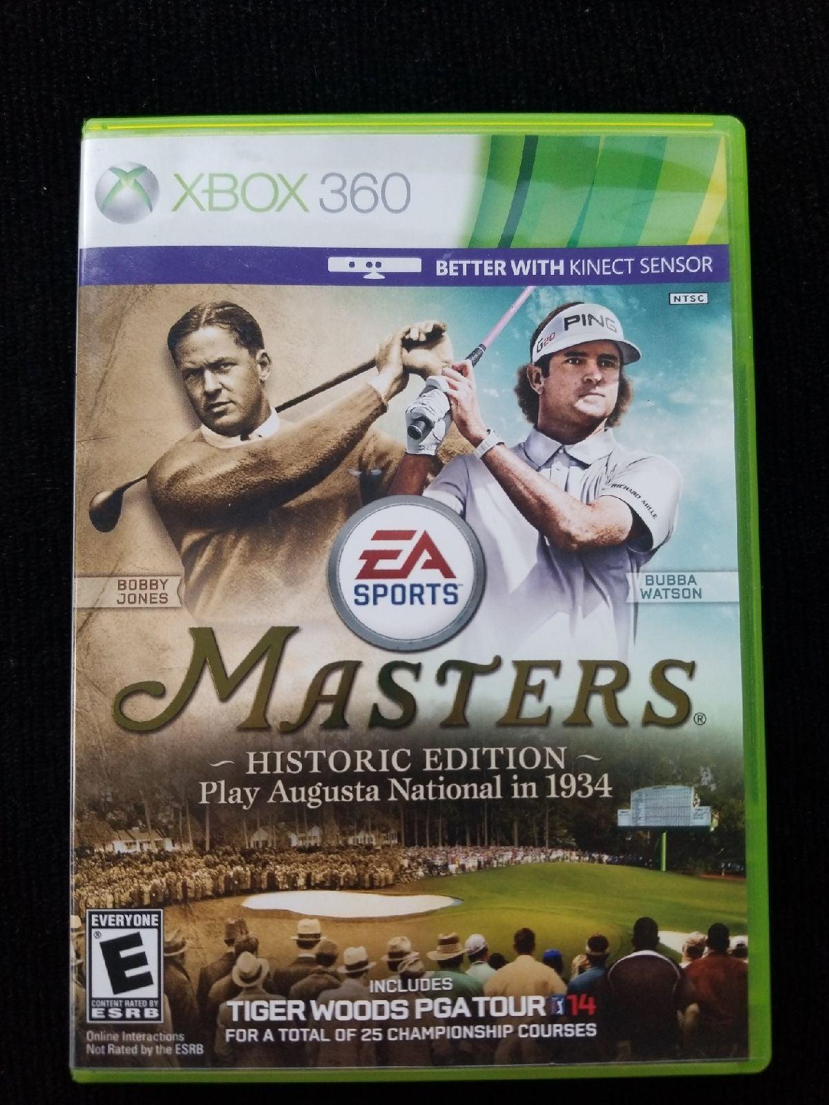 Tiger Woods PGA Tour 14 Historic Edition