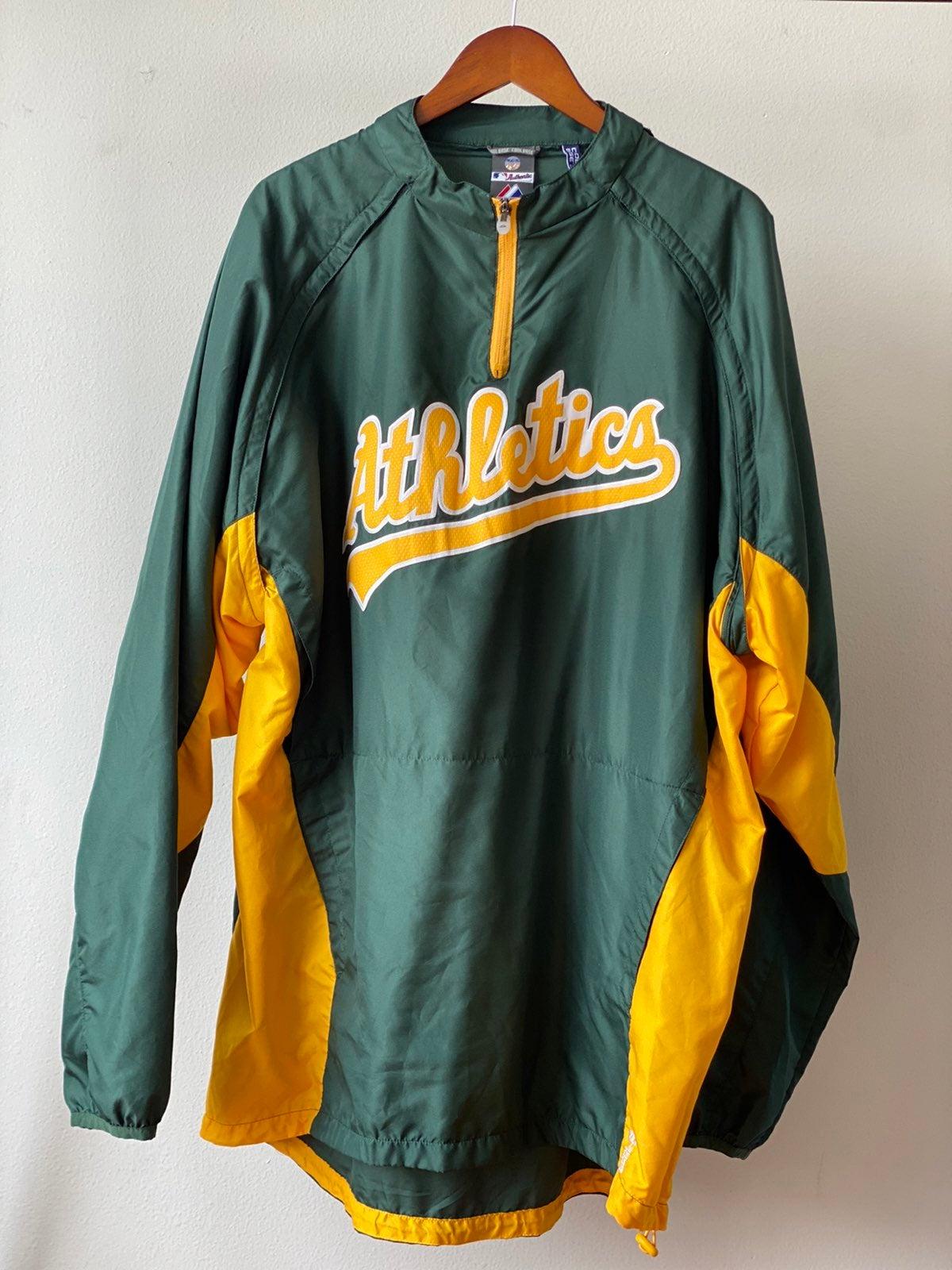 Majestic Oakland Athletics Windbreaker