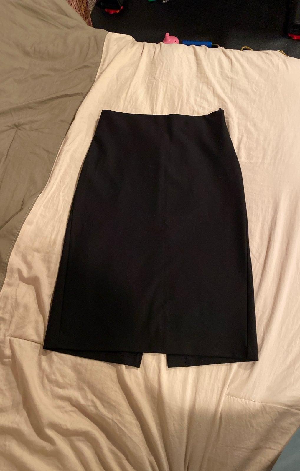 Benetton Pencil Skirt Black