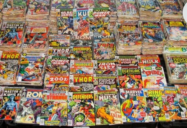 Grab bag of 10 Marvel Vintage Bronze Age