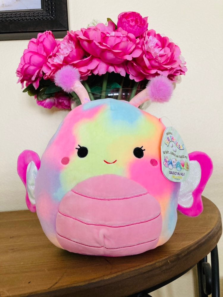 "NWT Iris the Butterfly 8"" Squishmallow"