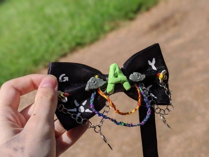 Adjustable Gay Pride Bowtie