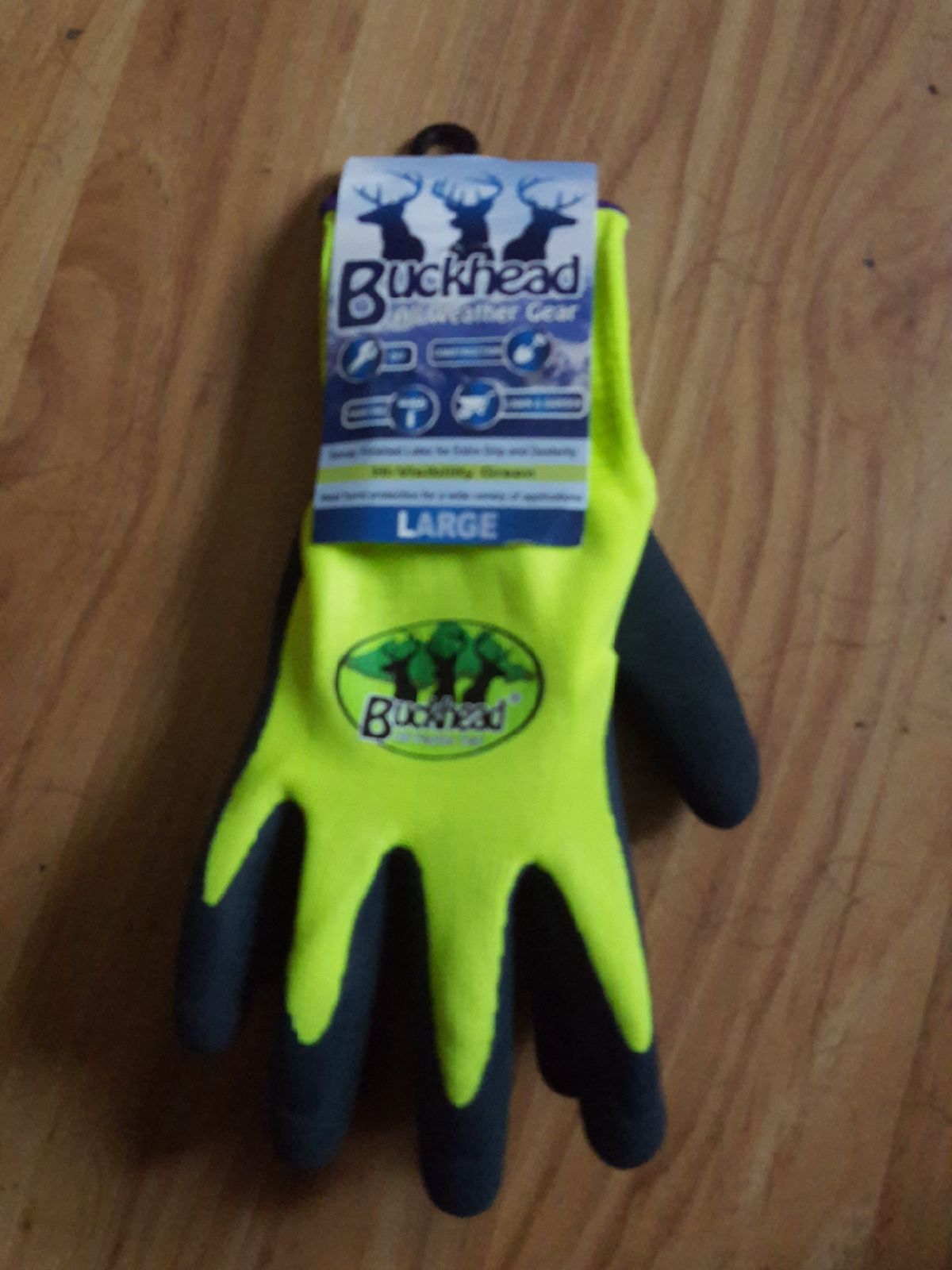 New Buckhead All Weather Gear gloves