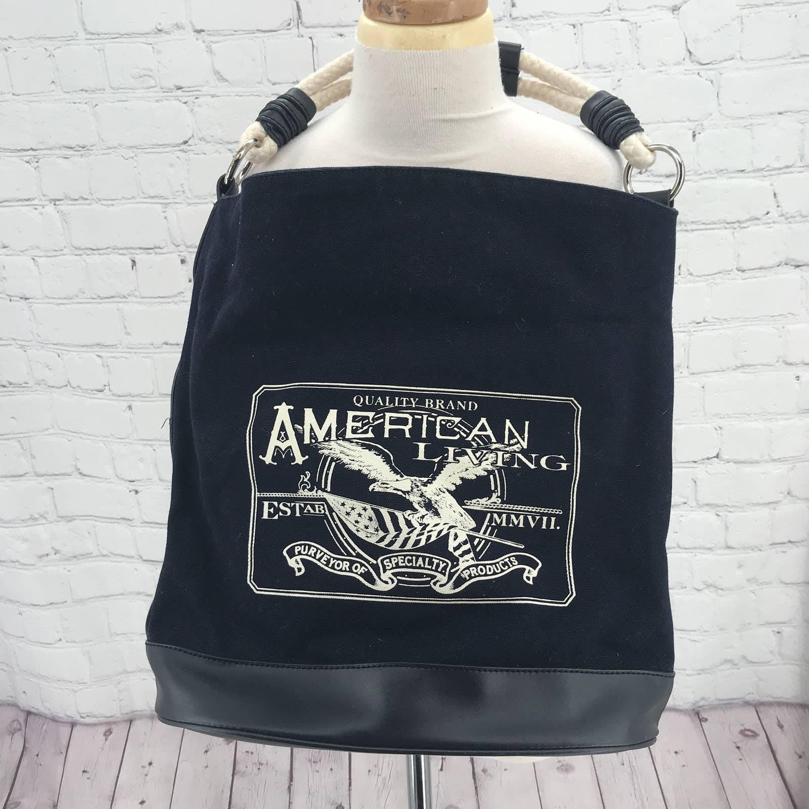 American Living navy  shoulder bag