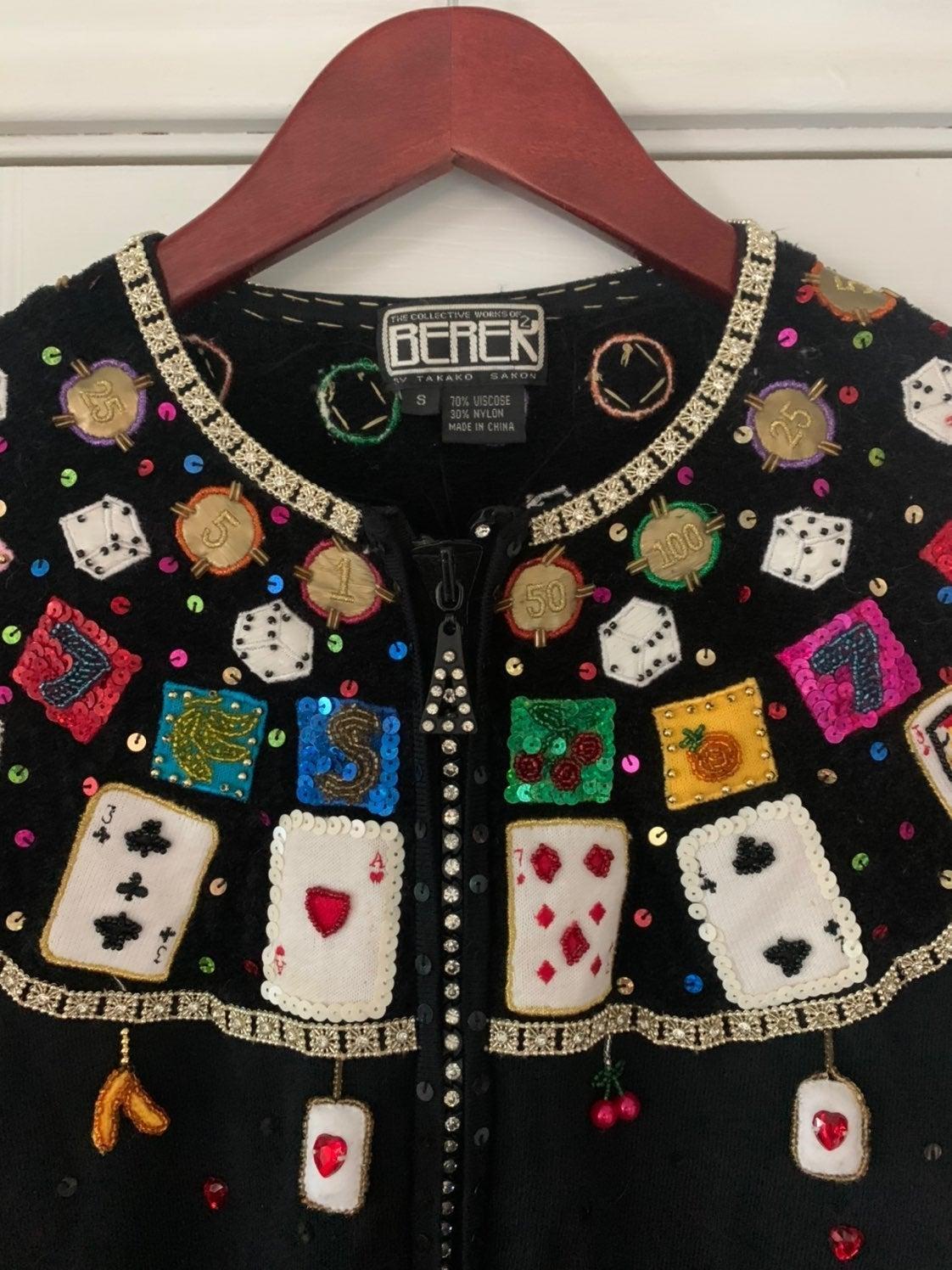 Vintage Berek Vegas Cardigan