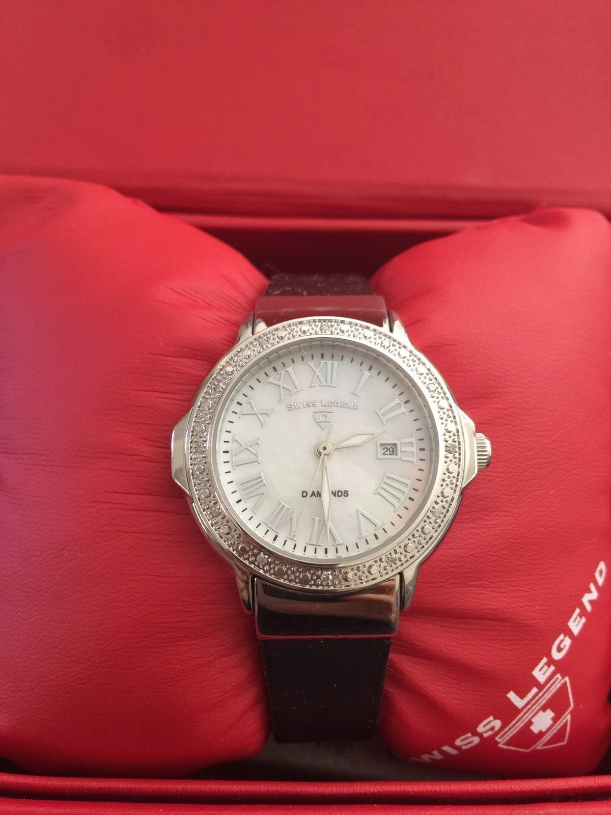 Swiss Legend Diamond Watch