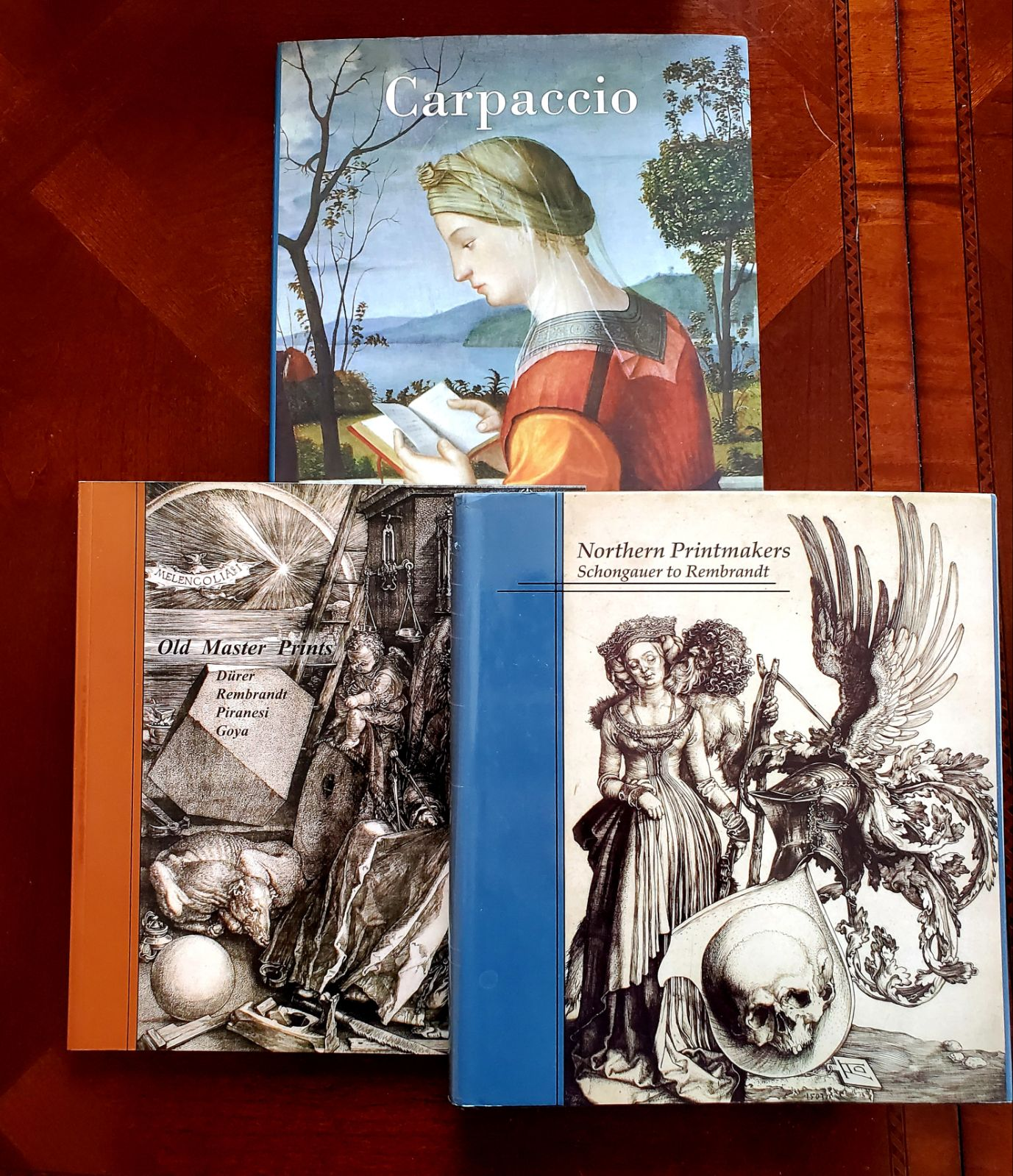 Art books of Rembrandt, Goya and others
