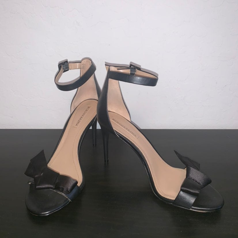 BCBGMAXAZRIA Black Pavli Sandals
