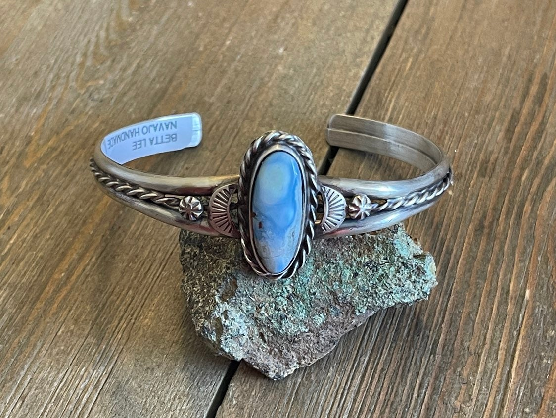Betta Lee Golden Hill's Turquoise Cuff