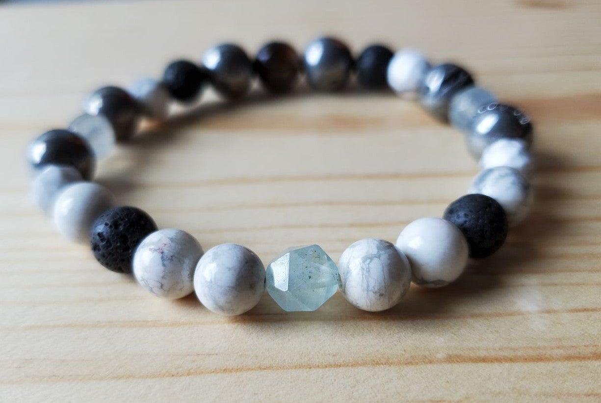 Gemstone Spiritual Beaded Bracelet