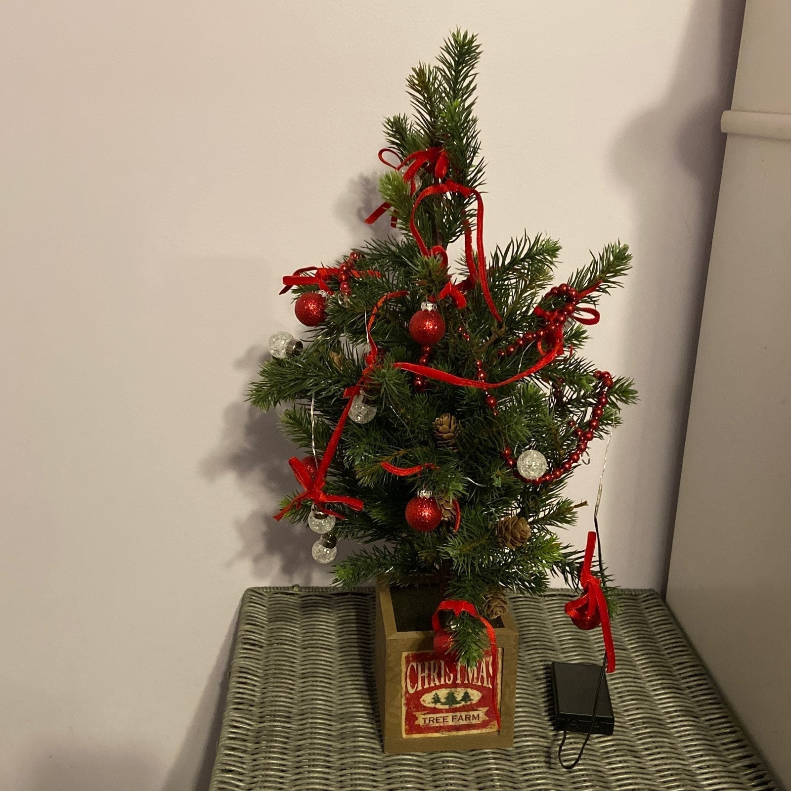 Small Christmas Tree with Special Effect