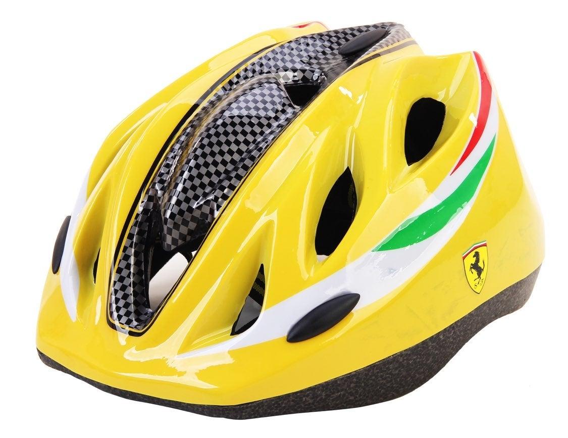 Ferrari Kids Helmet Medium Size.