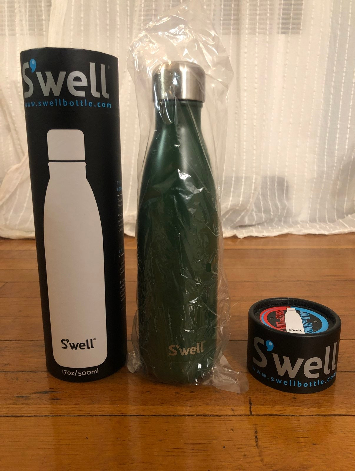 S'well 17oz insulated water bottle