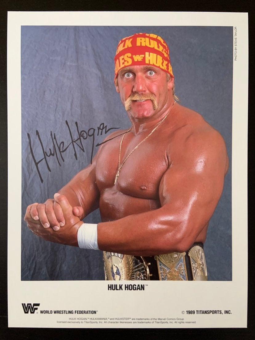 WWF Hulk Hogan photo