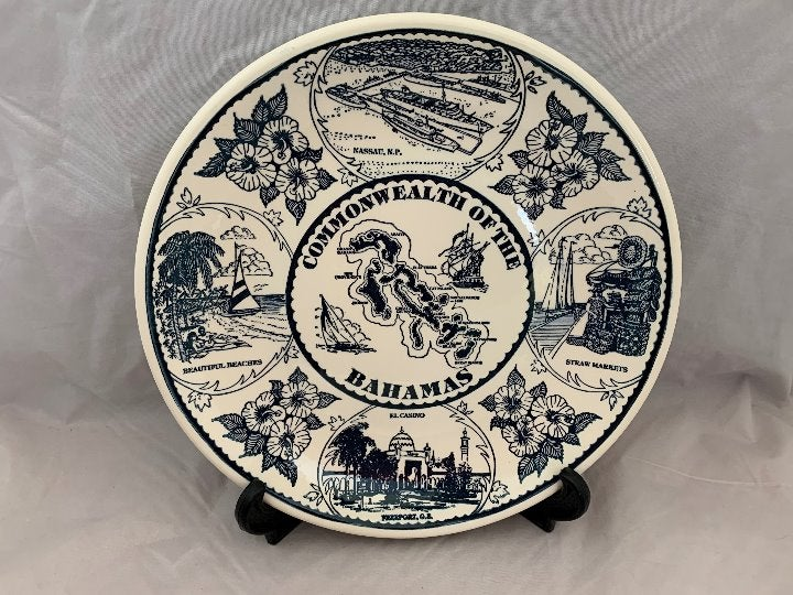 Vintage Bahamas Collectible Plate