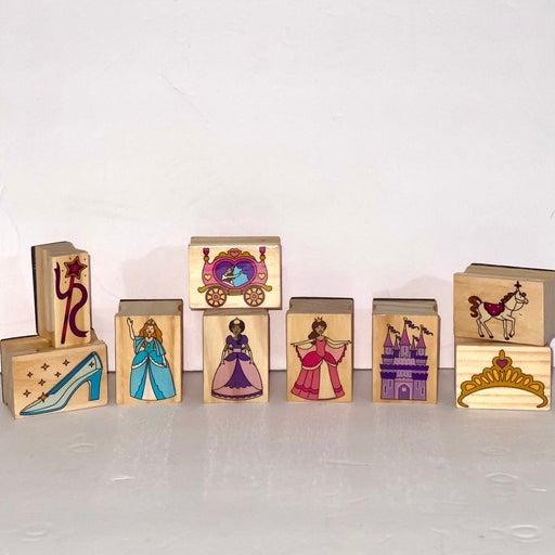 Castle Princess rubber stamp lot