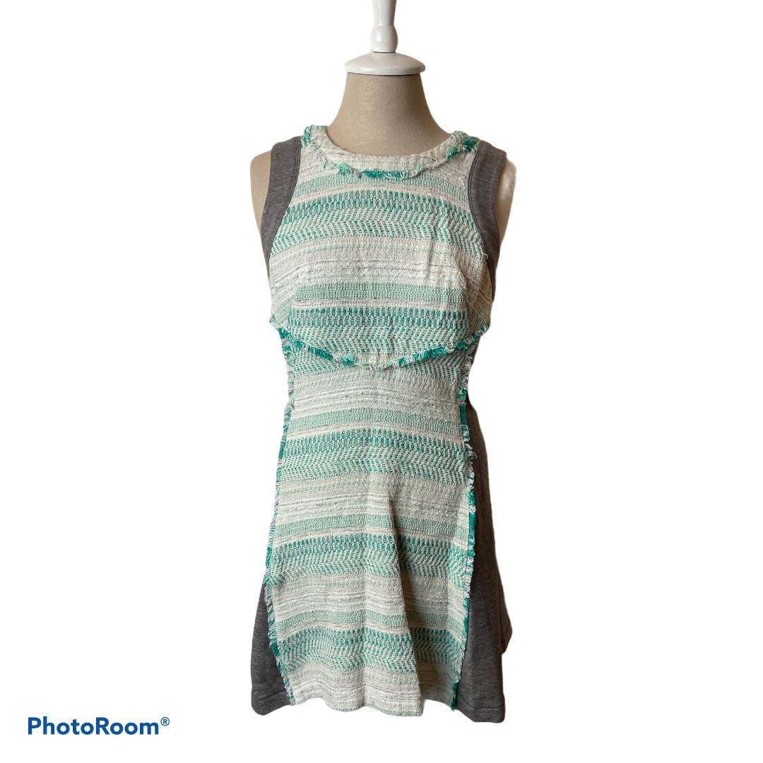 Rachel Roy Green Gray Dress Size 6