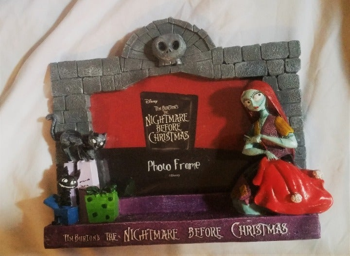 Nightmare Before Christmas Picture Frame