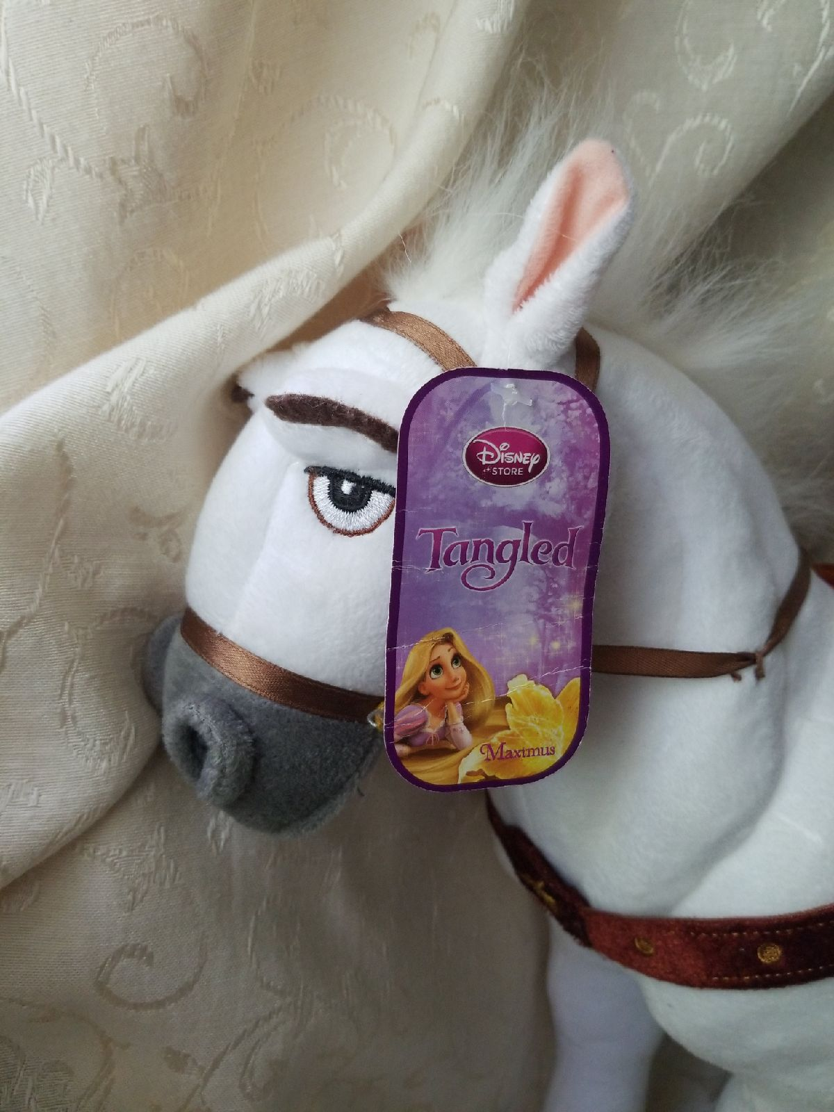 "Tangled Maximus Horse Plush 15"""
