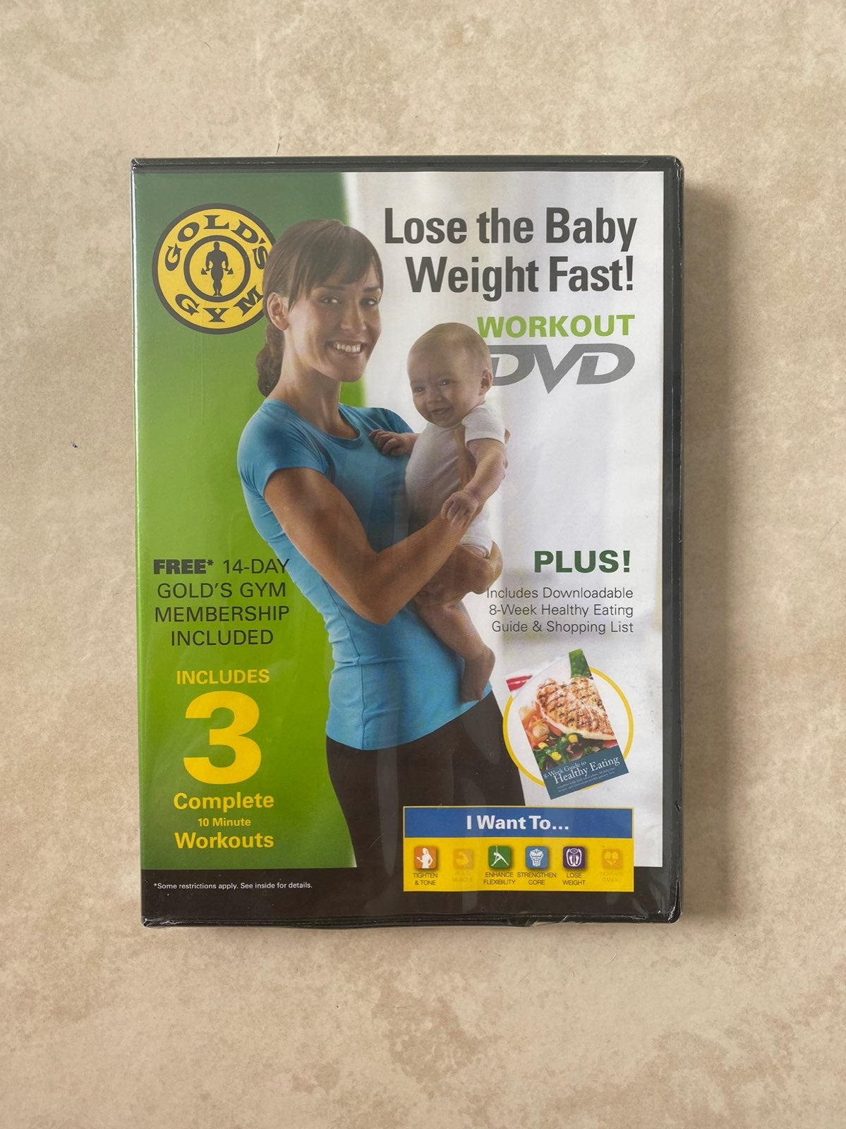 Gold's Gym Lose the Baby Weight Fast DVD