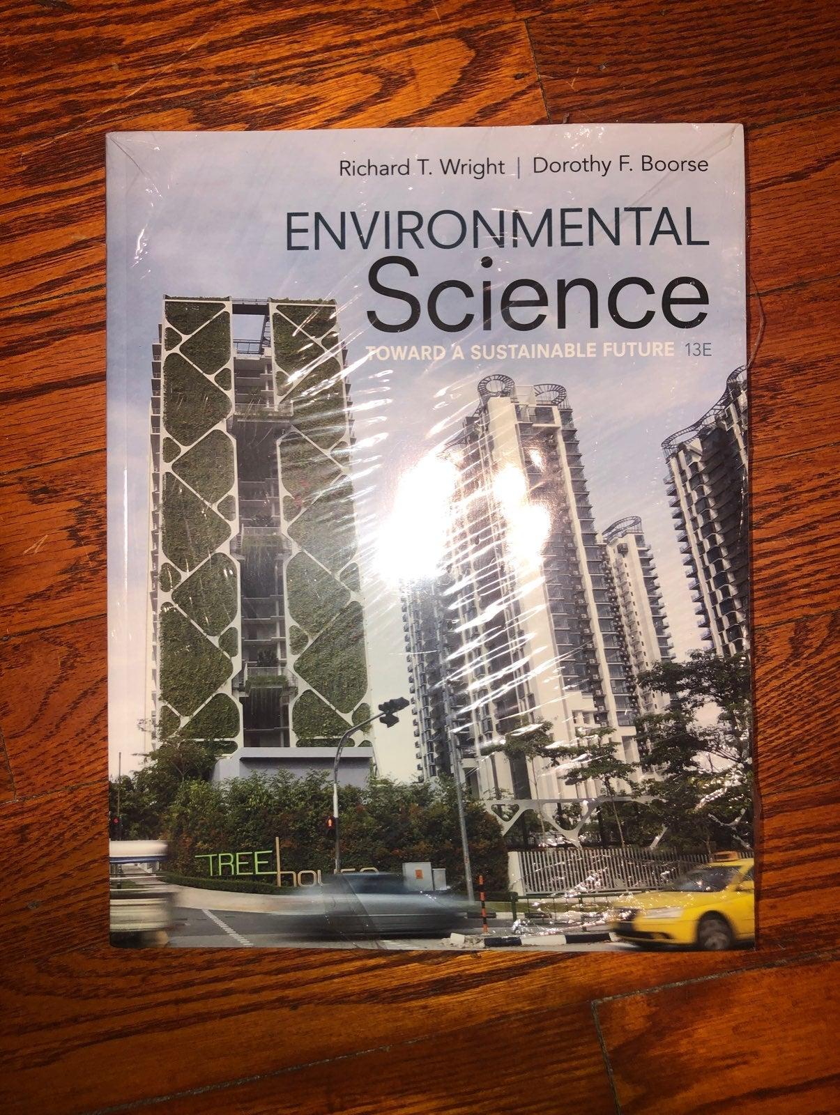 Environmental Science book