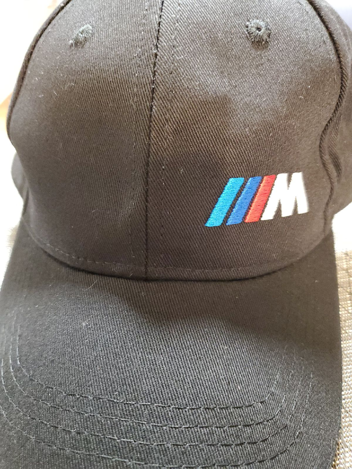 BMW M BLACK HAT CAP UNISEX MENS WOMENS