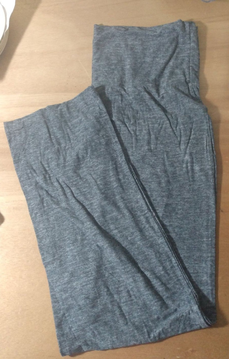 Women's 2X Gray Soft Yoga Pants New