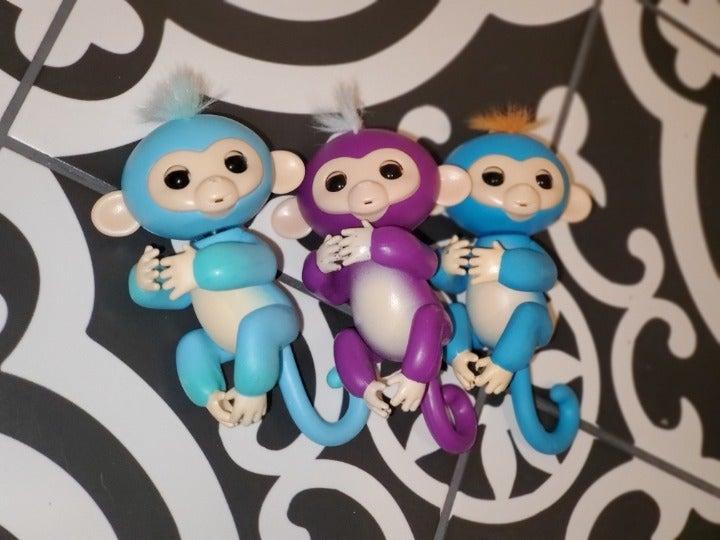 3 Monkey Fingerlings
