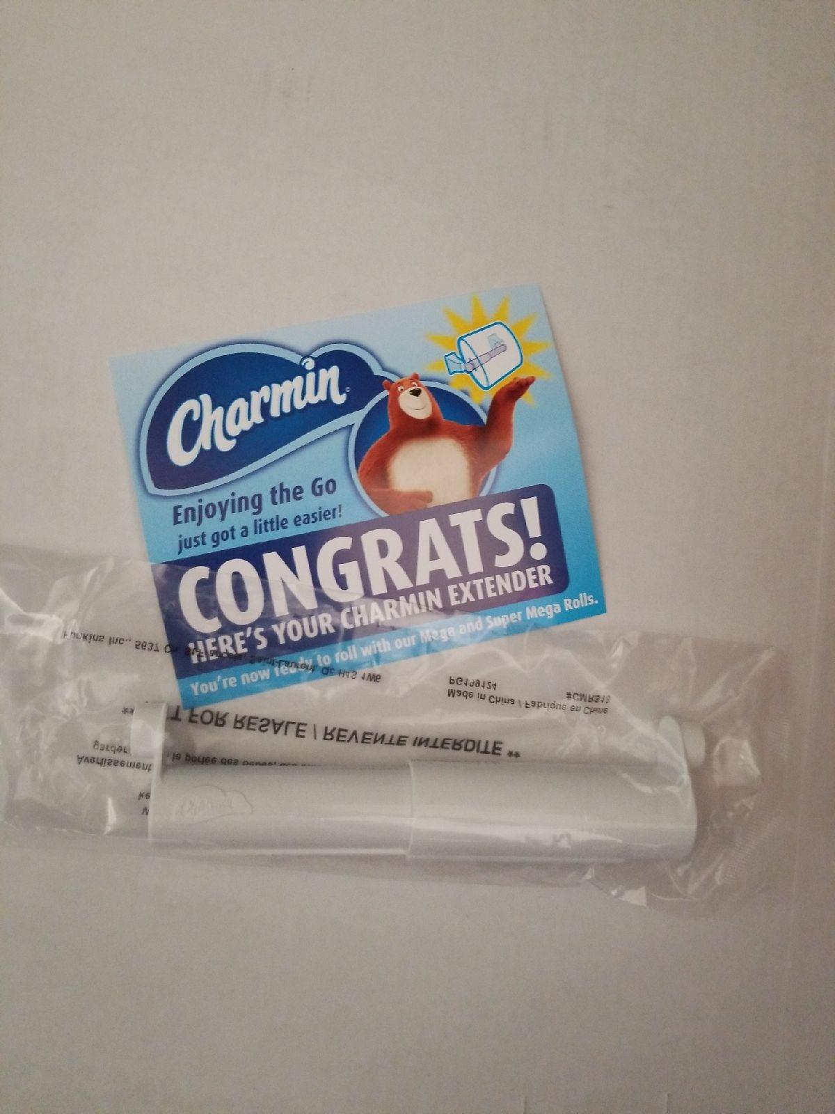 Charmin toilet roll extender