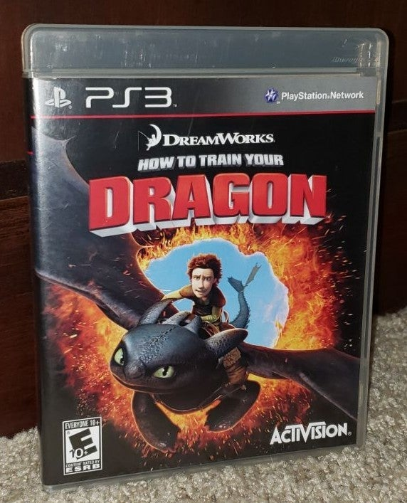 CIB PS3 How To Train Your Dragon