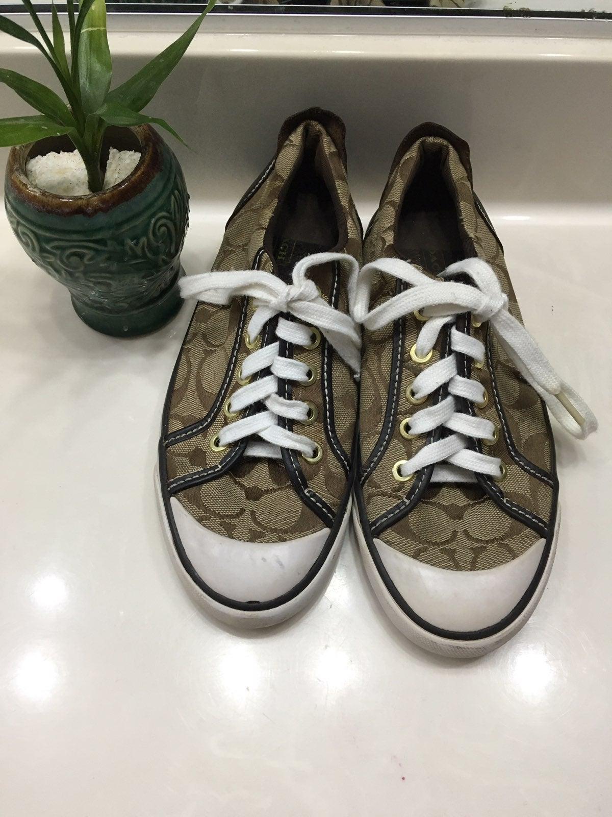 BARRETT Monogram Print Lace Up Sneakers