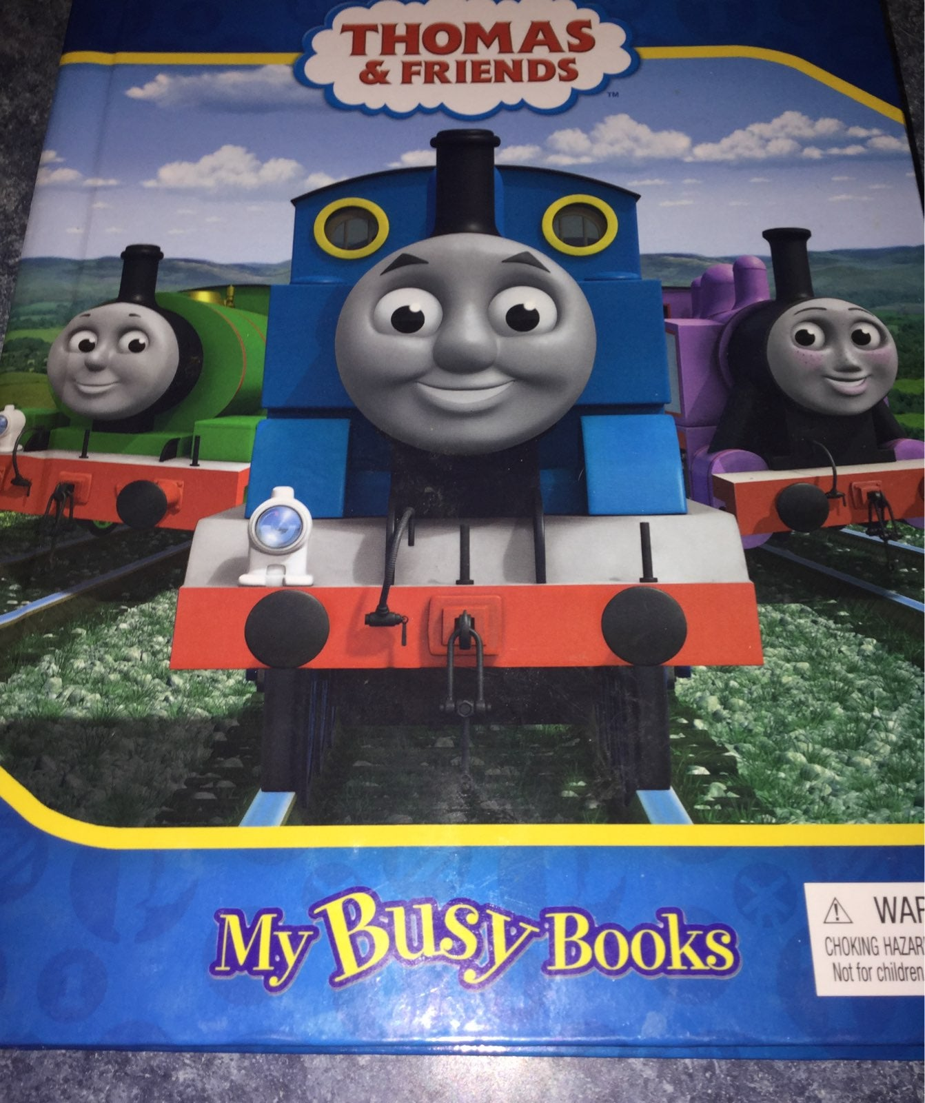 Thomas & friends busy book