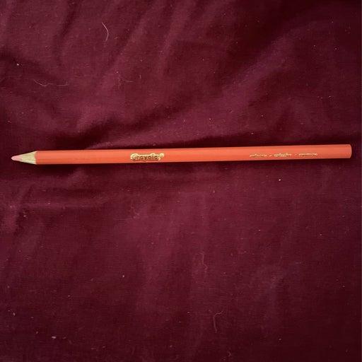 A colored pencil