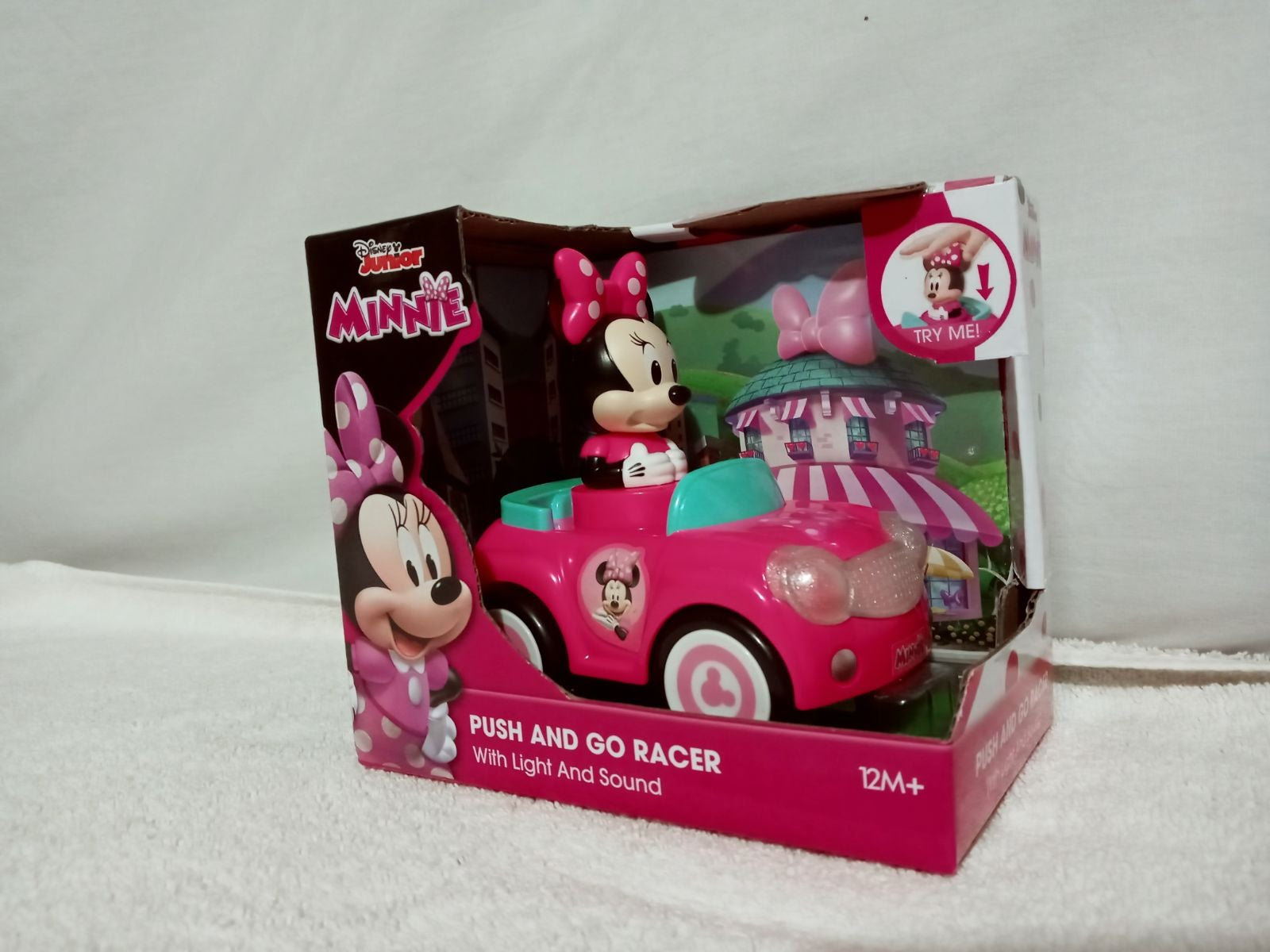 Disney Push and Go Racer